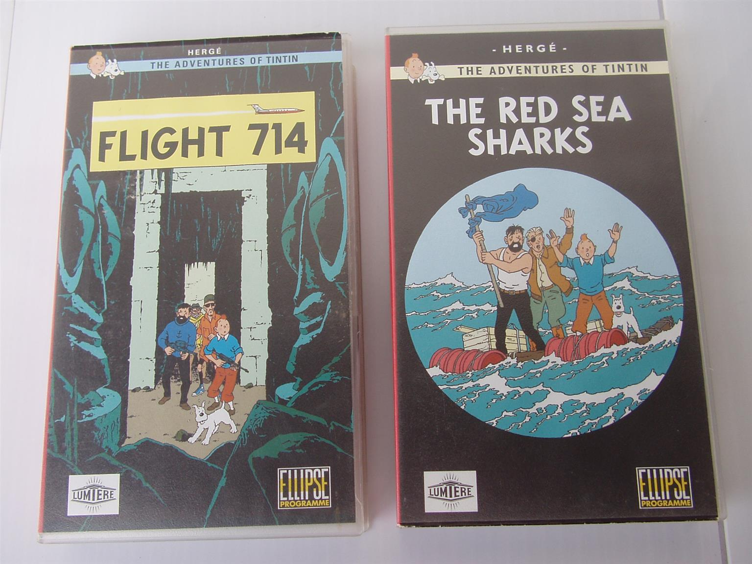 Tin Tin Videos - Flight 714 and The Red Sea Sharks
