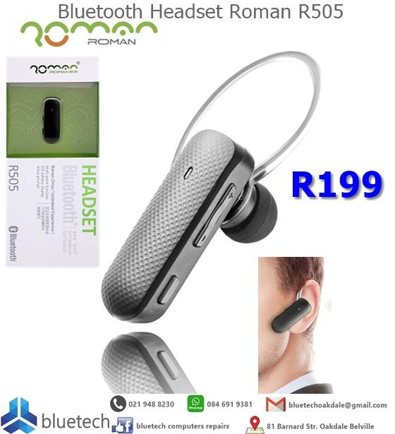 Bluetooth Headset Roman R505