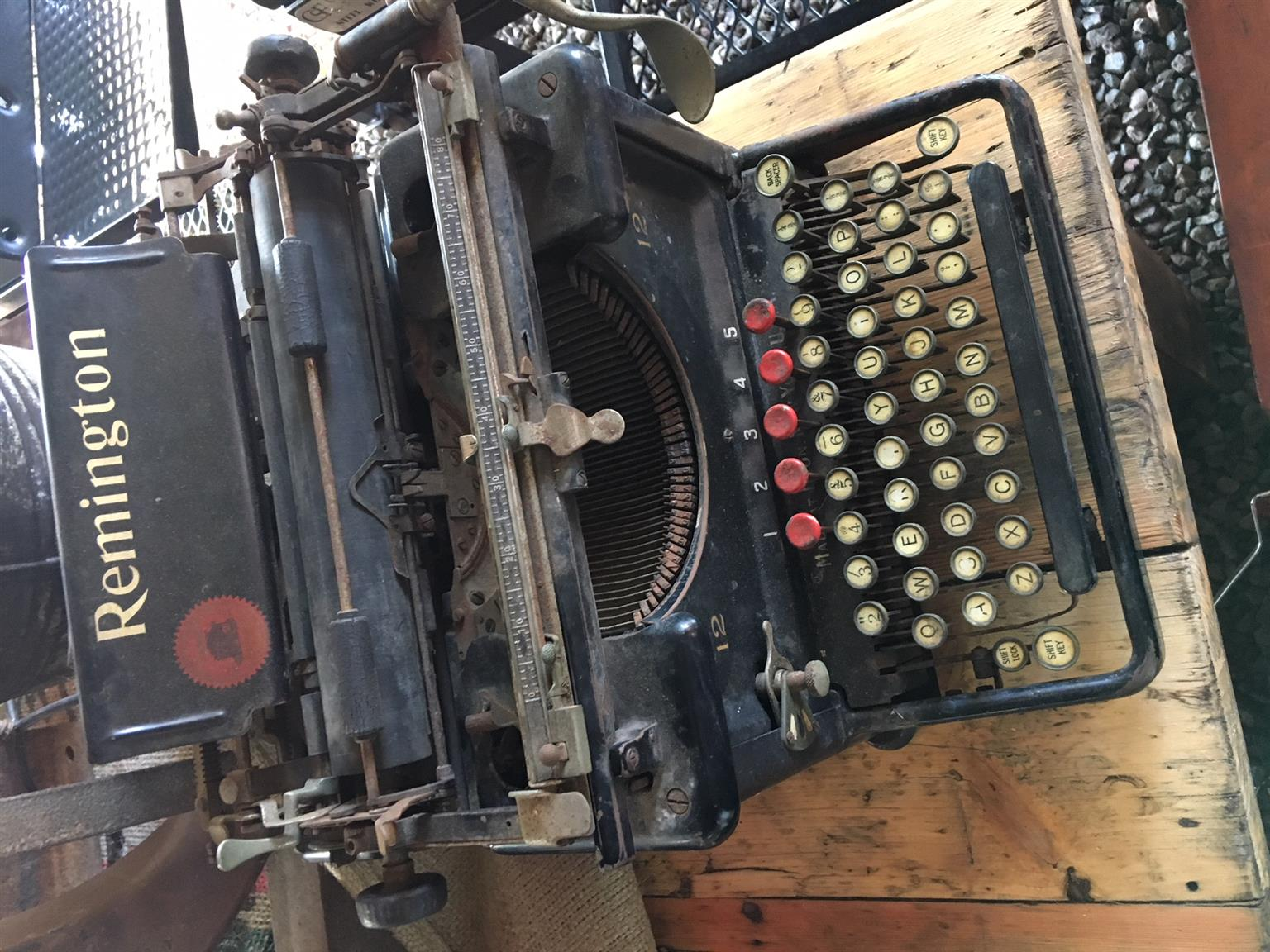Vintage Typewriter - Remington