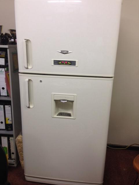 Daewoo double door fridge