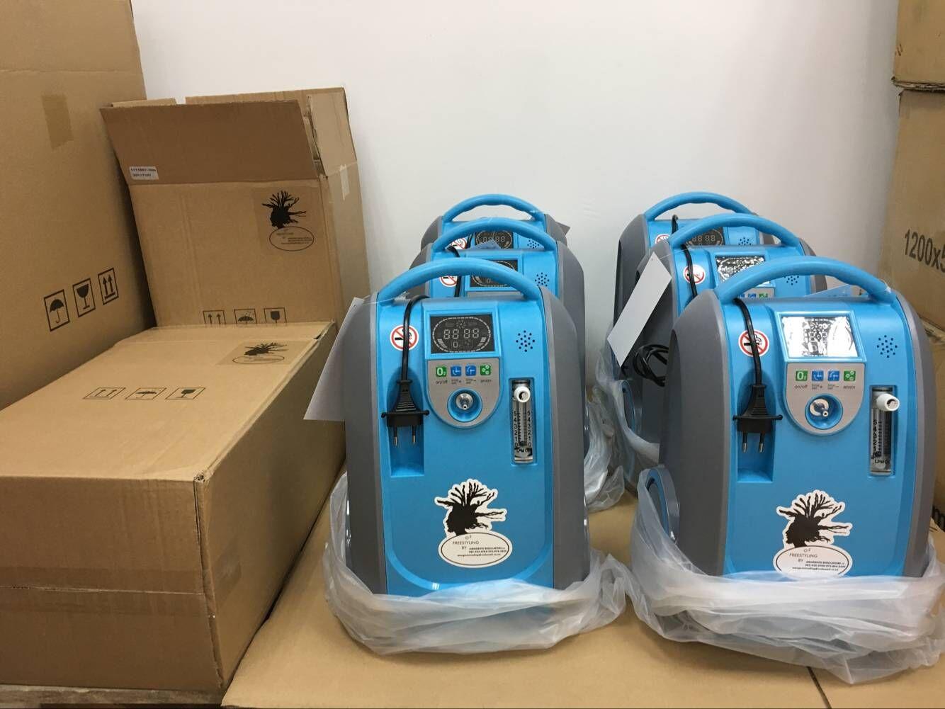 Portable oxygen concentrator 0-5 litre