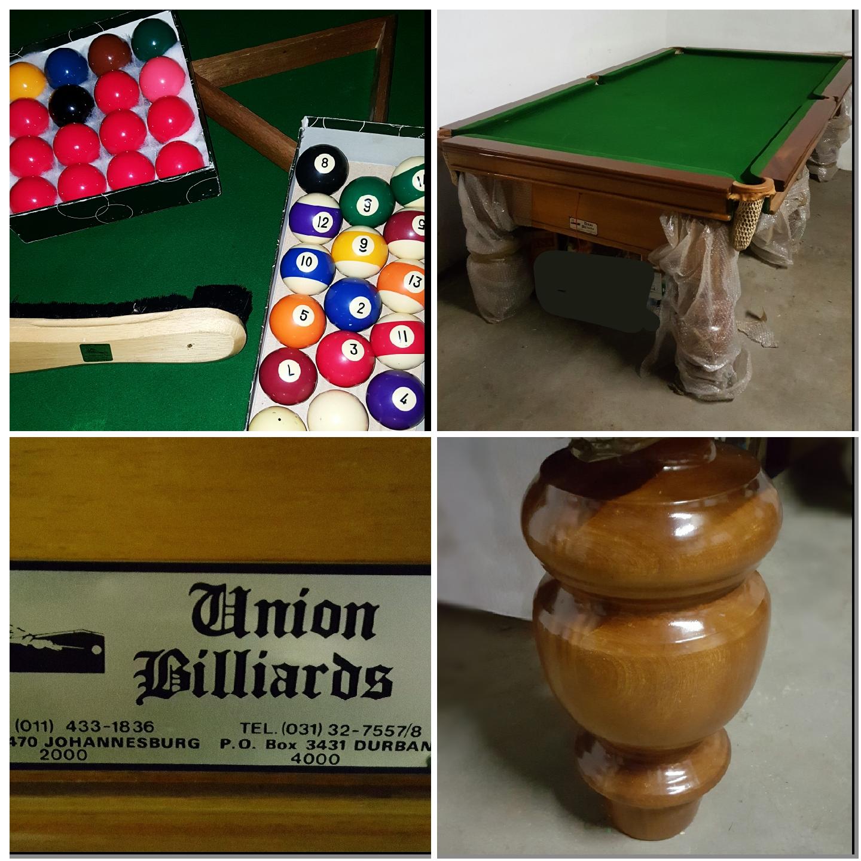 Union Billiard Table