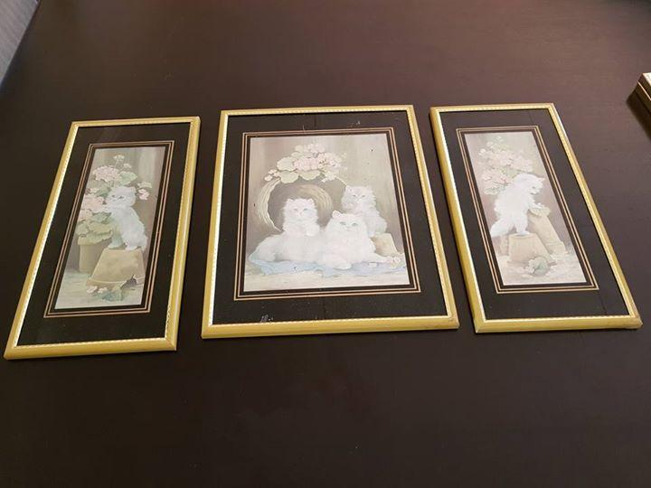 Three panel art