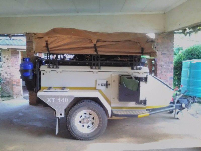 Jurgens XT 140 camping Trailer. FULL HOUSE