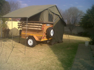 4x4 trailer R30,000
