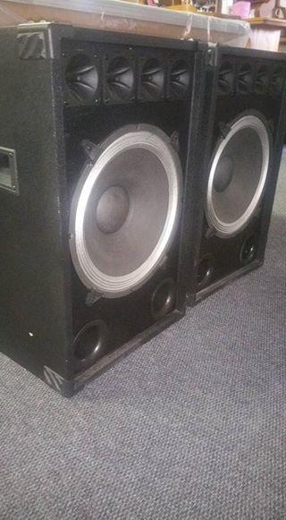 Groot DJ speakers x2