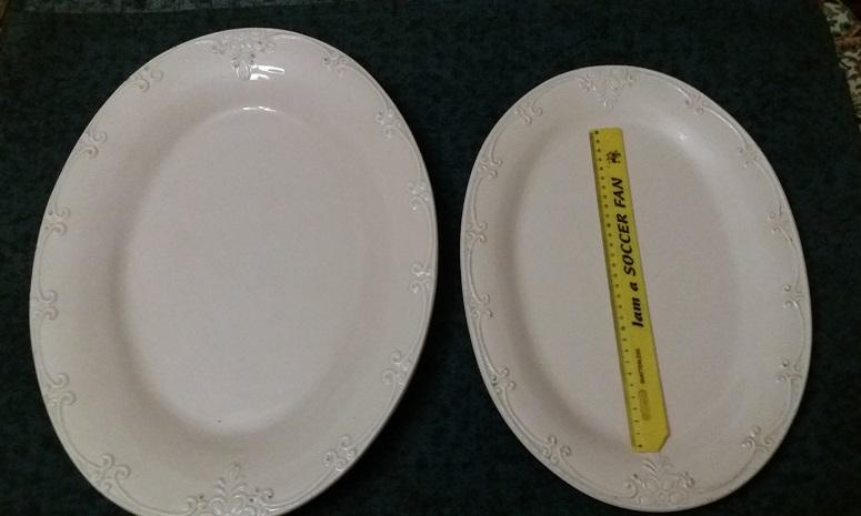 Serving Dishes Set Oval Shape