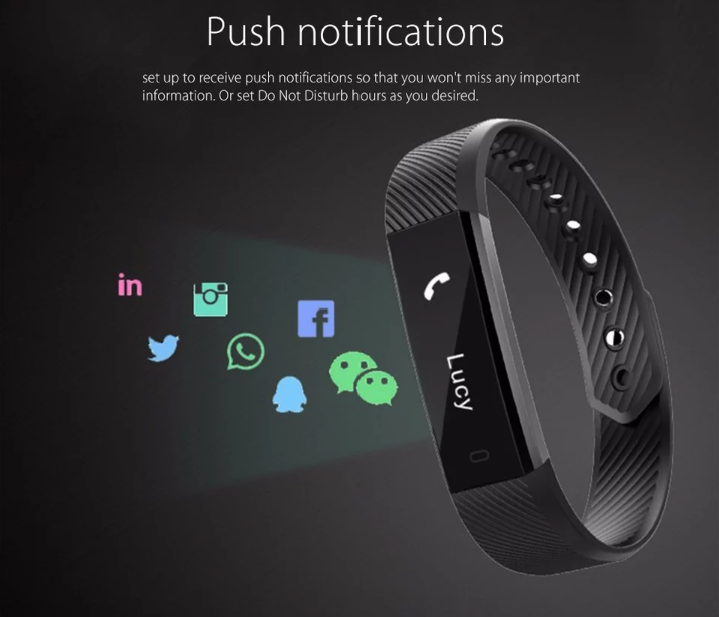 Fitness Tracker Wrist Band