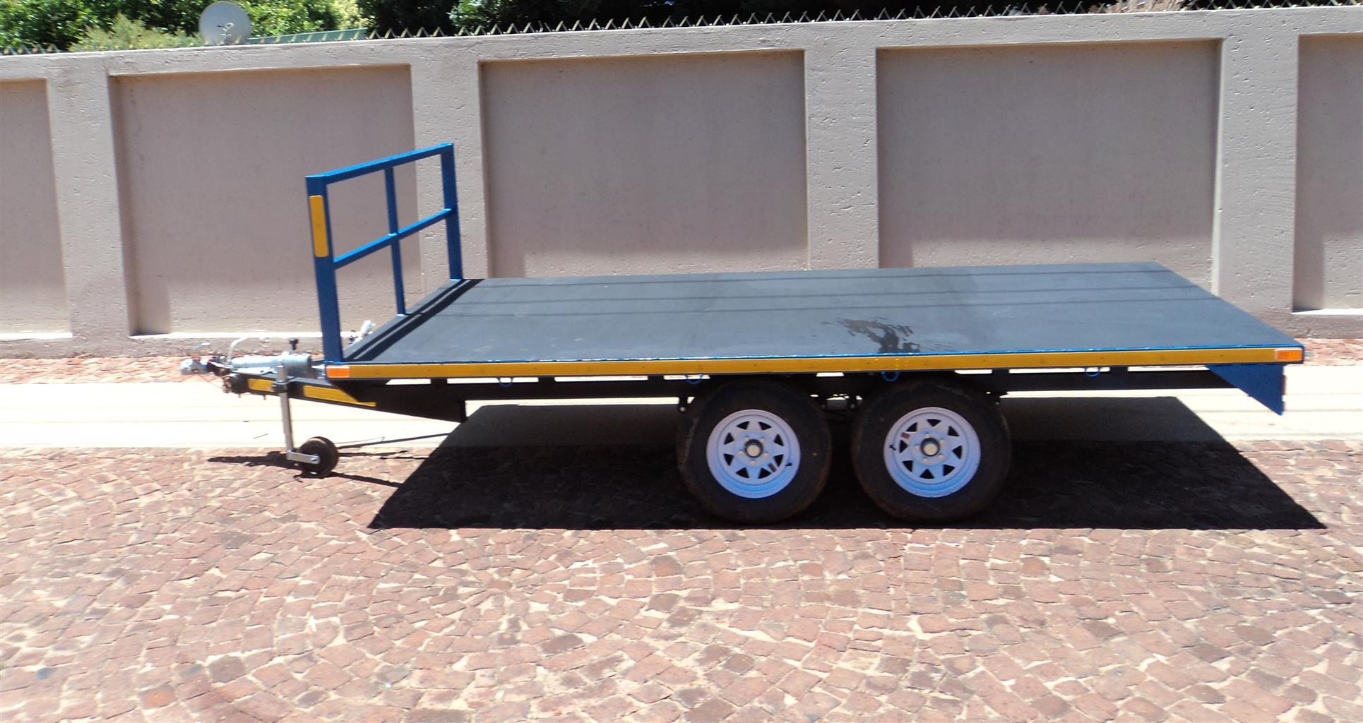 Flat Deck Trailer >> N Flat Deck Trailer 2700kg