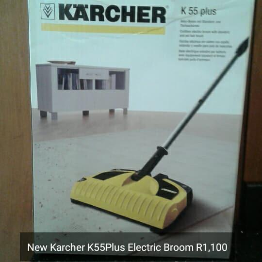 Karcher electric broom