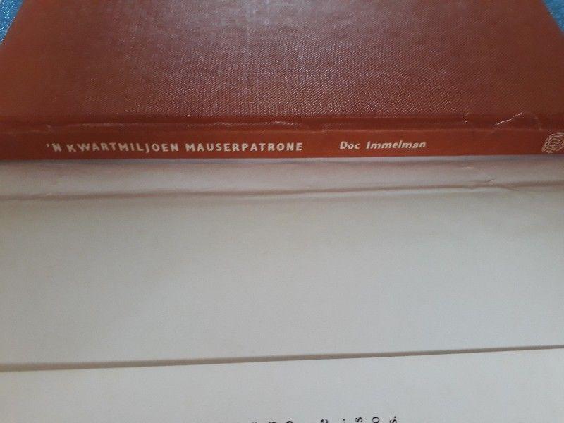 N Kwartmiljoen Mauserpatrone - Doc Immelman.