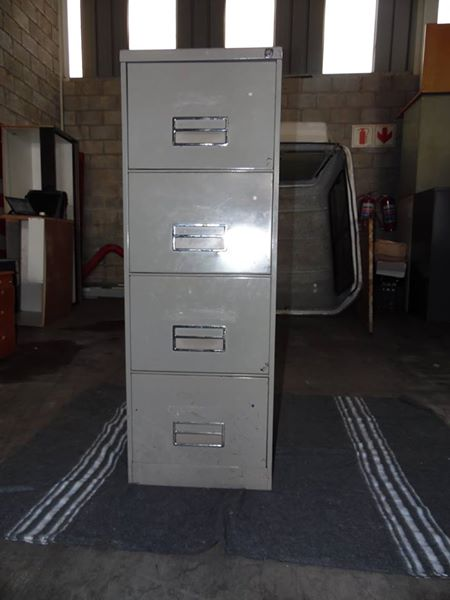 Steel Four Drawer Filing Cabine