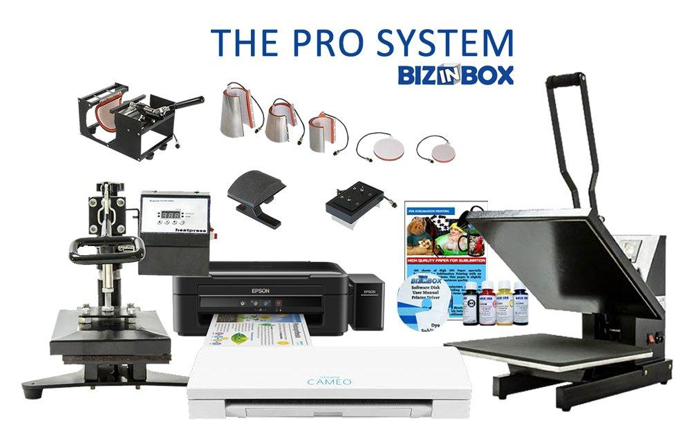 The Pro Printing system is the most complete setup and go business opportunity available.