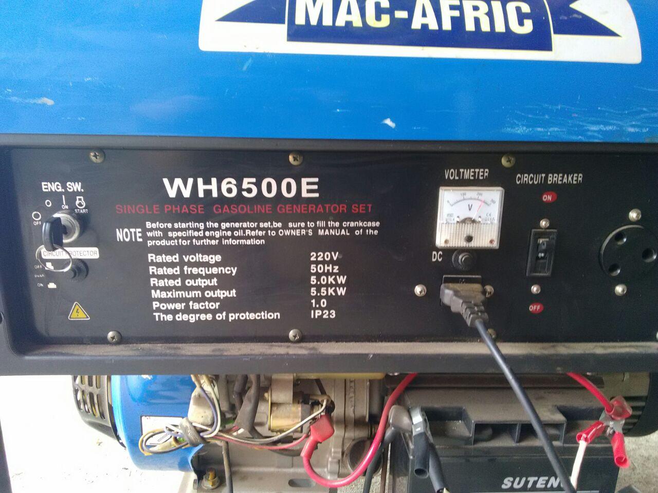 Generator Mac Afric Junk Mail Circuit Breaker Parts