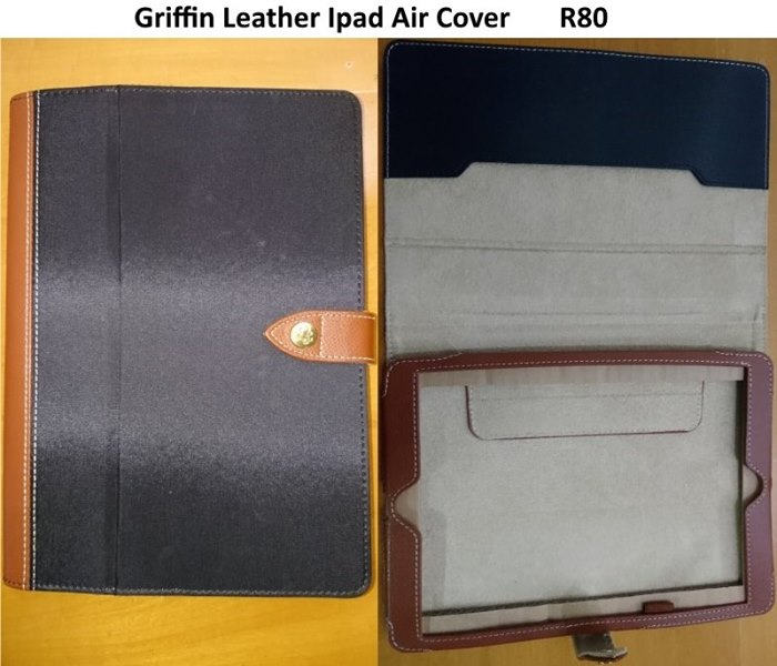 Griffin leather ipad cover