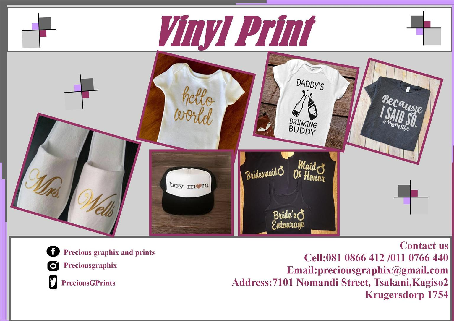 Print Your Items