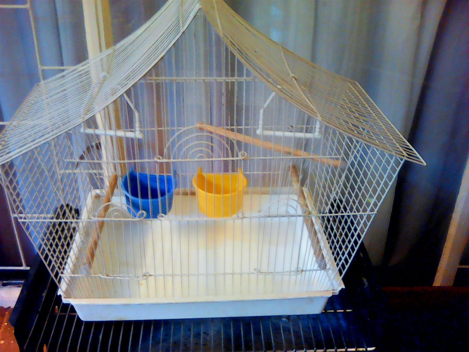 2 x bird cages for sale - urgent