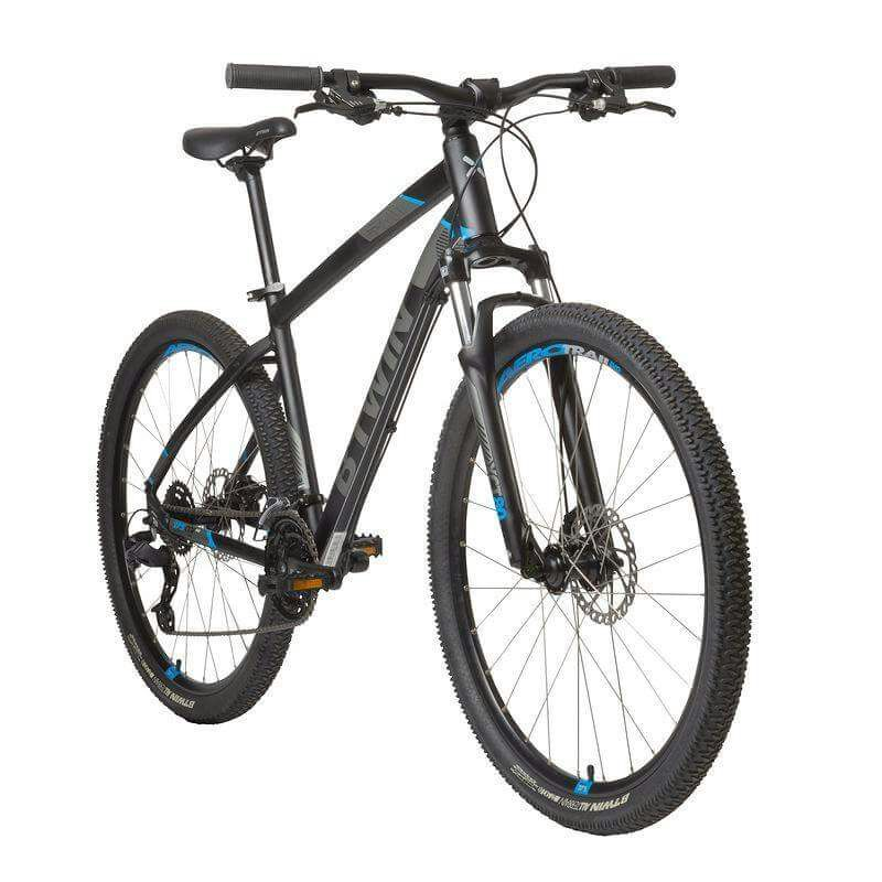 Rockrider B Twin Decathlon 520 Mtb Black Size M Bike Junk Mail