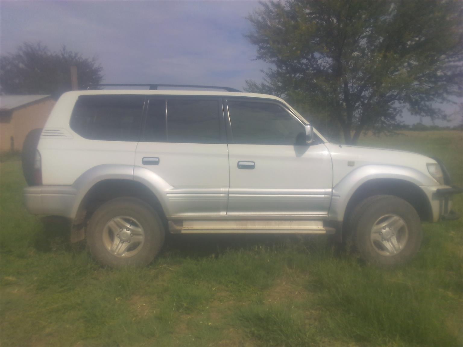 2000 Toyota Land Cruiser Prado