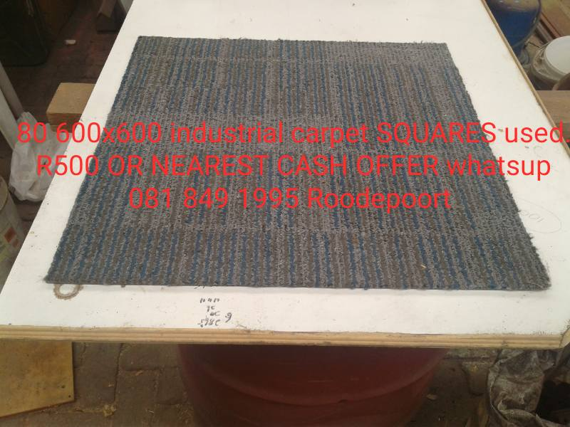 Industrial carpet squares for sale