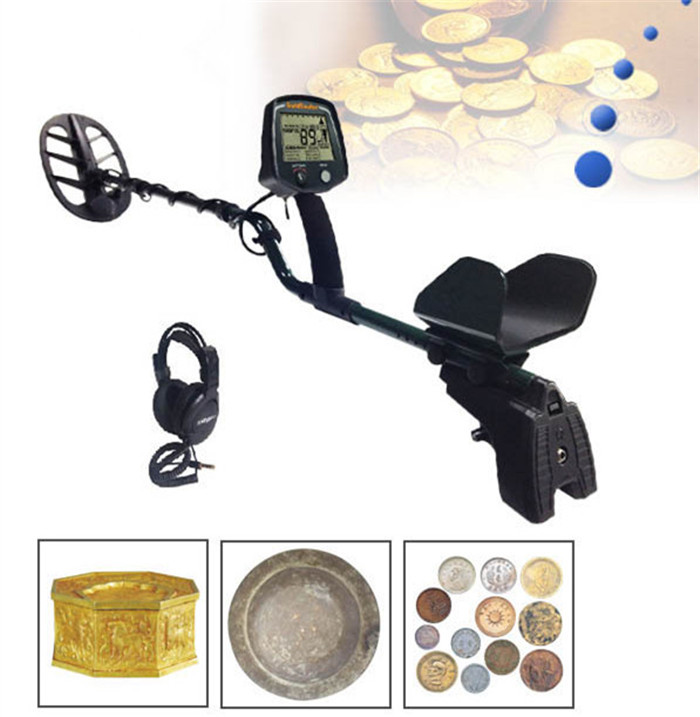 Gold Detector GF2 Underground Pro High Sensitivity LCD Display Detector