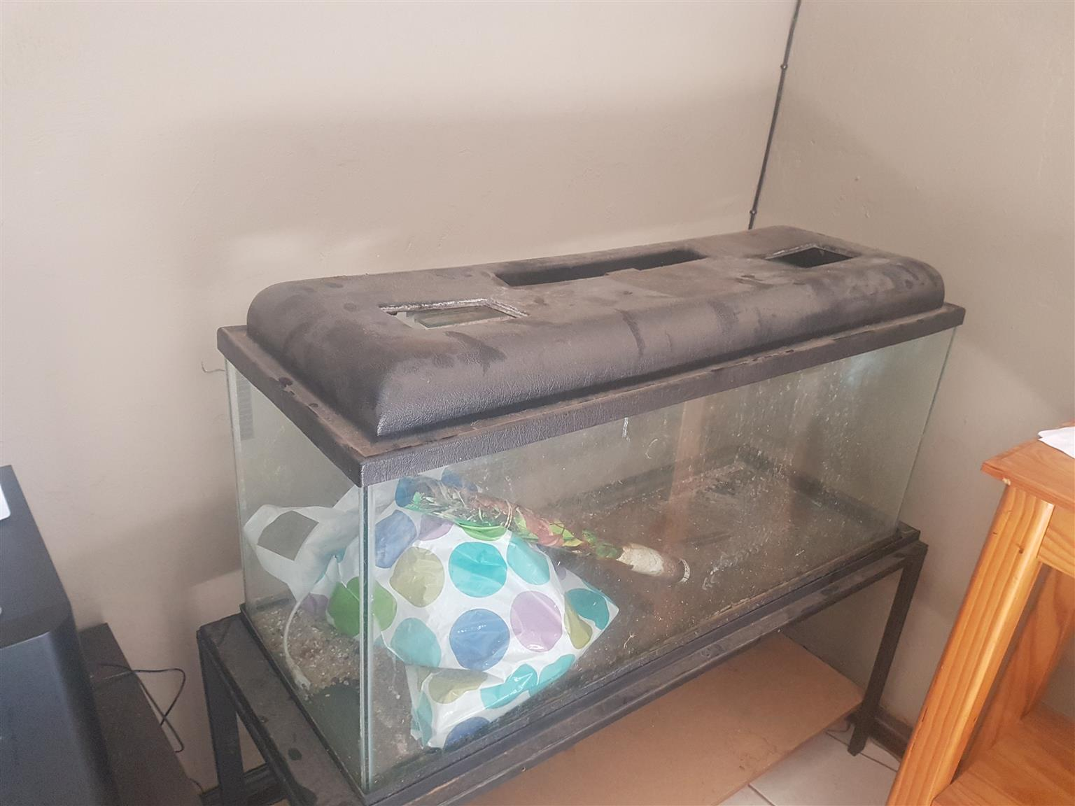 4 Ft fishtank and stand