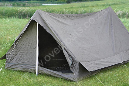 FRENCH MILITARY TENT. NEW, WATER RESISTANT AND ENOUGH FOR TWO!