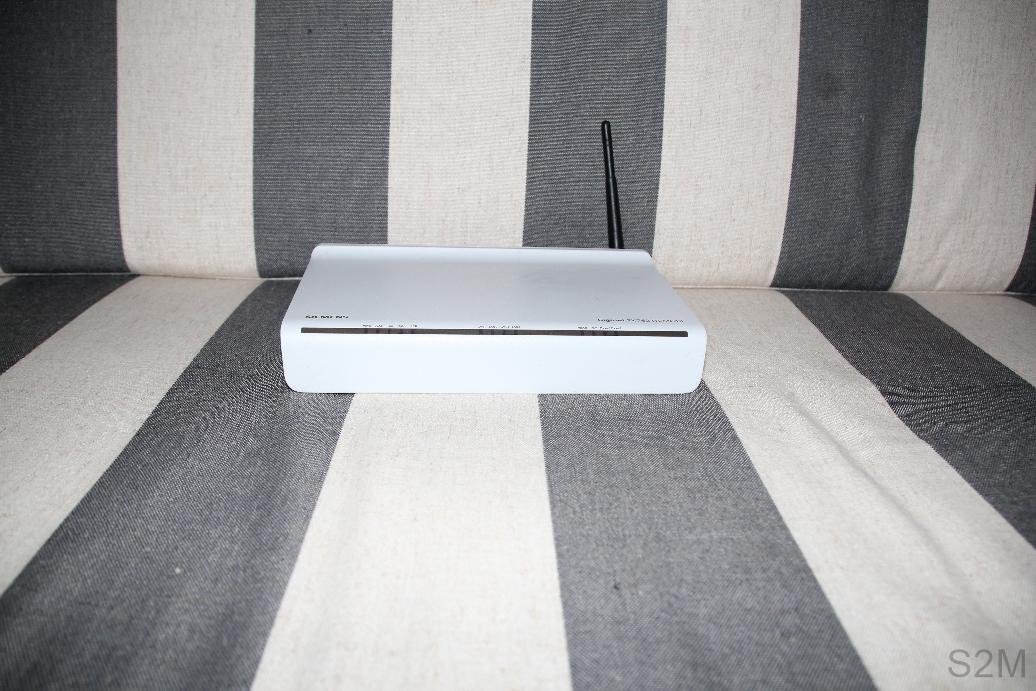 Siemens Gigaset SX 762 WLAN ADSL router.