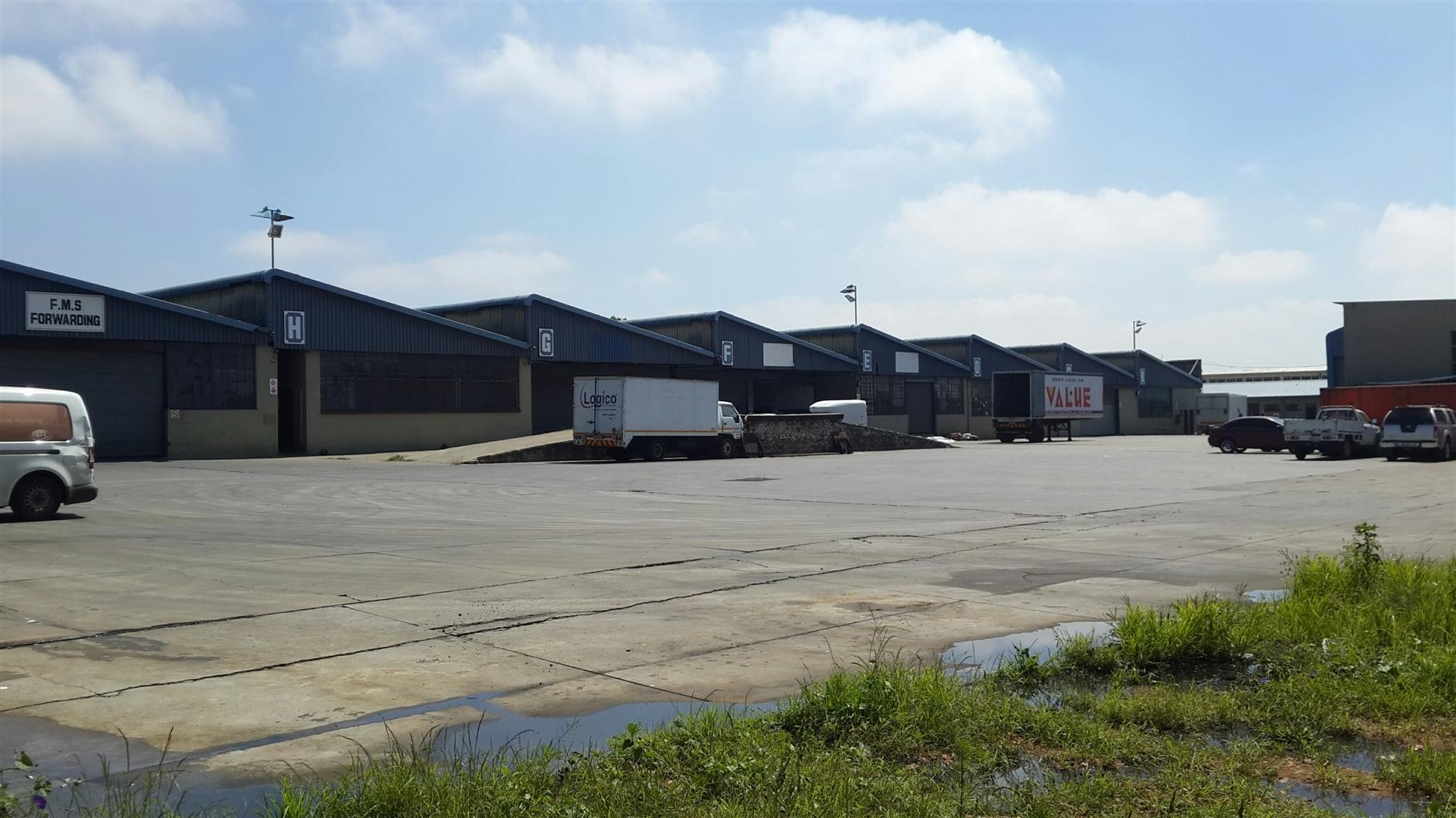 Prime Location - Industrial Space in Isando.