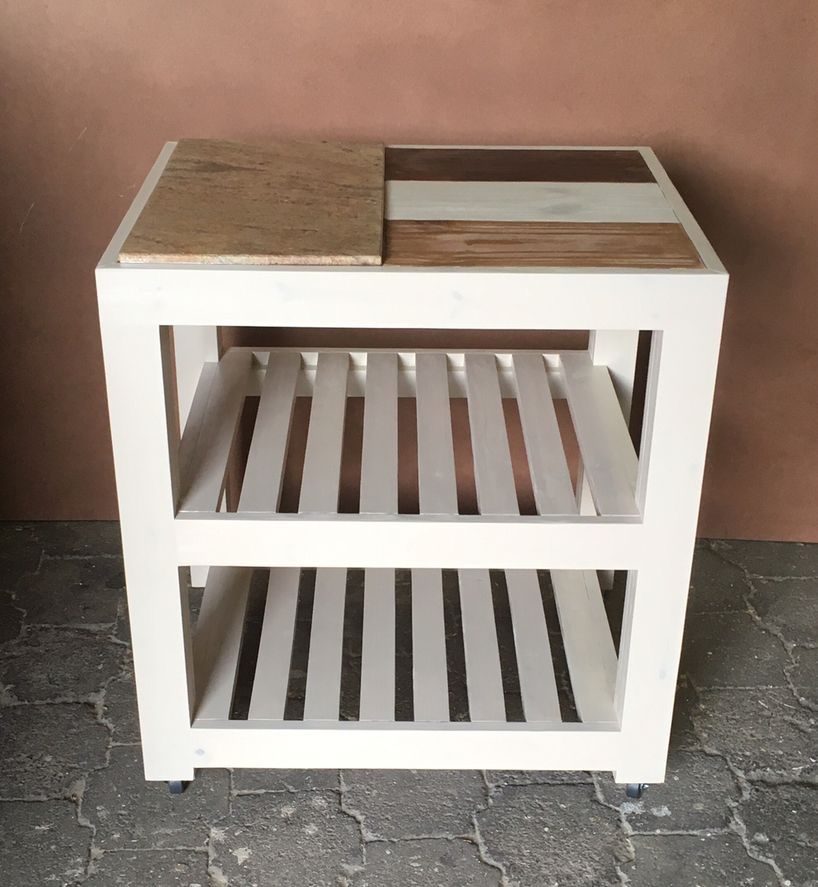 Butchers Block Chunky Farmhouse series 800 mobile Weathered top