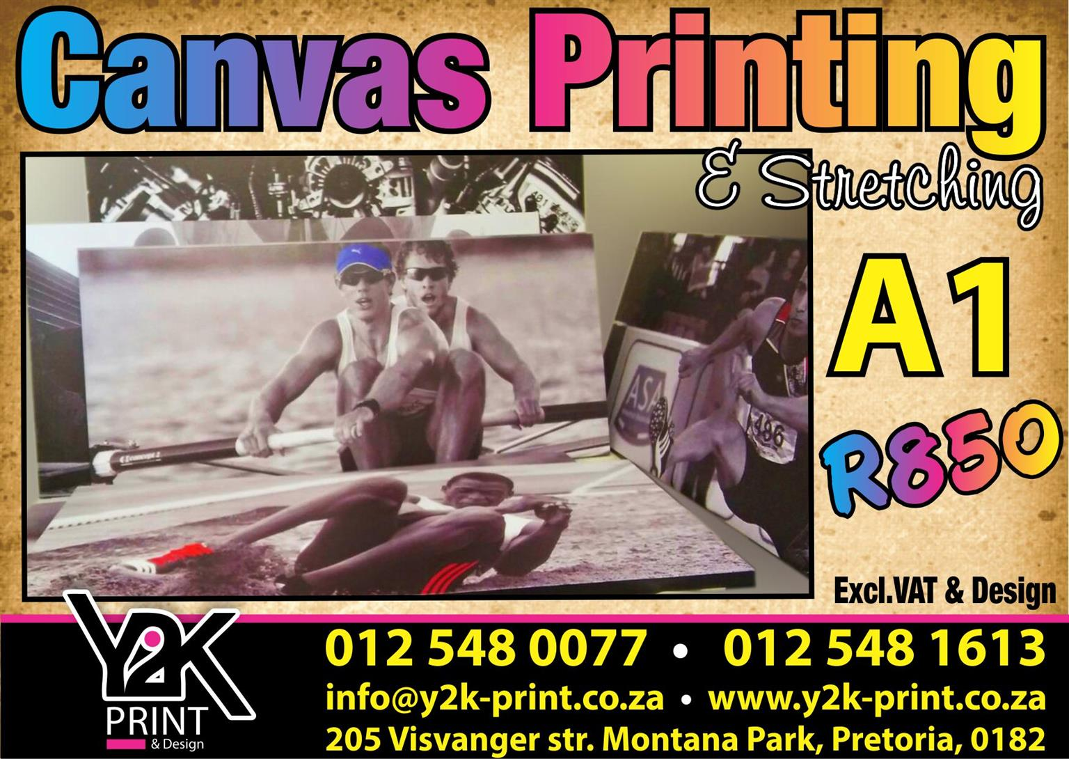 A1 Canvas printing