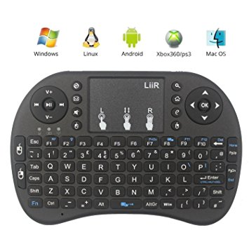 2 4G Mini Wireless Keyboard Mouse with Touchpad for PC Android TV