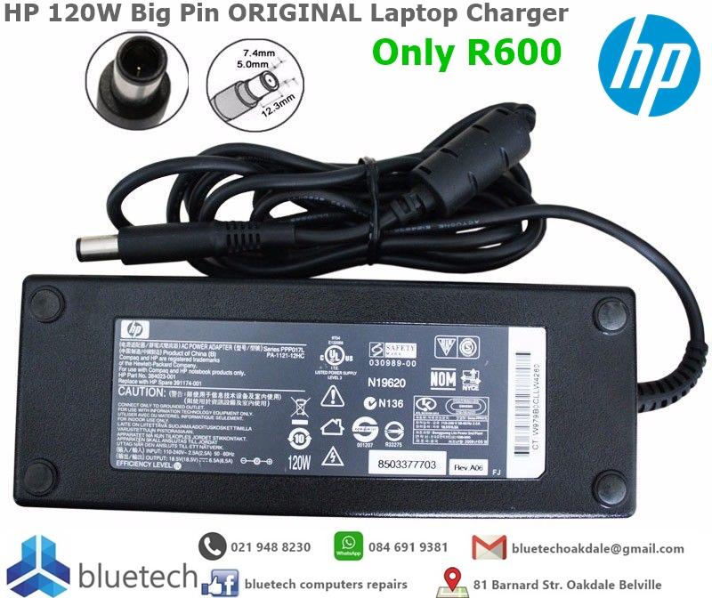 HP 120W Big Pin ORIGINAL Laptop Charger