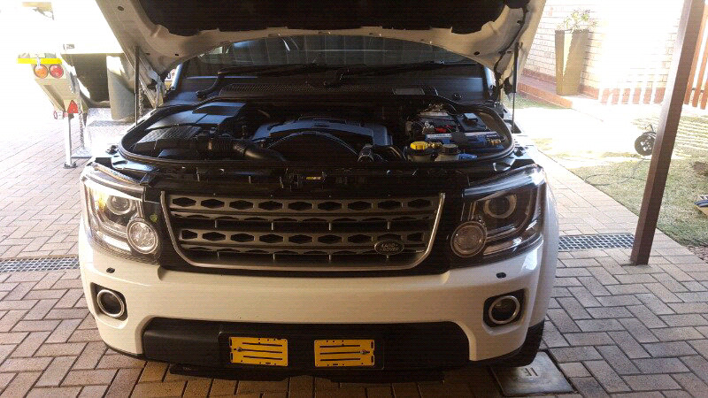 Land rover Discovery 4 dual battery system - G4 outdoor