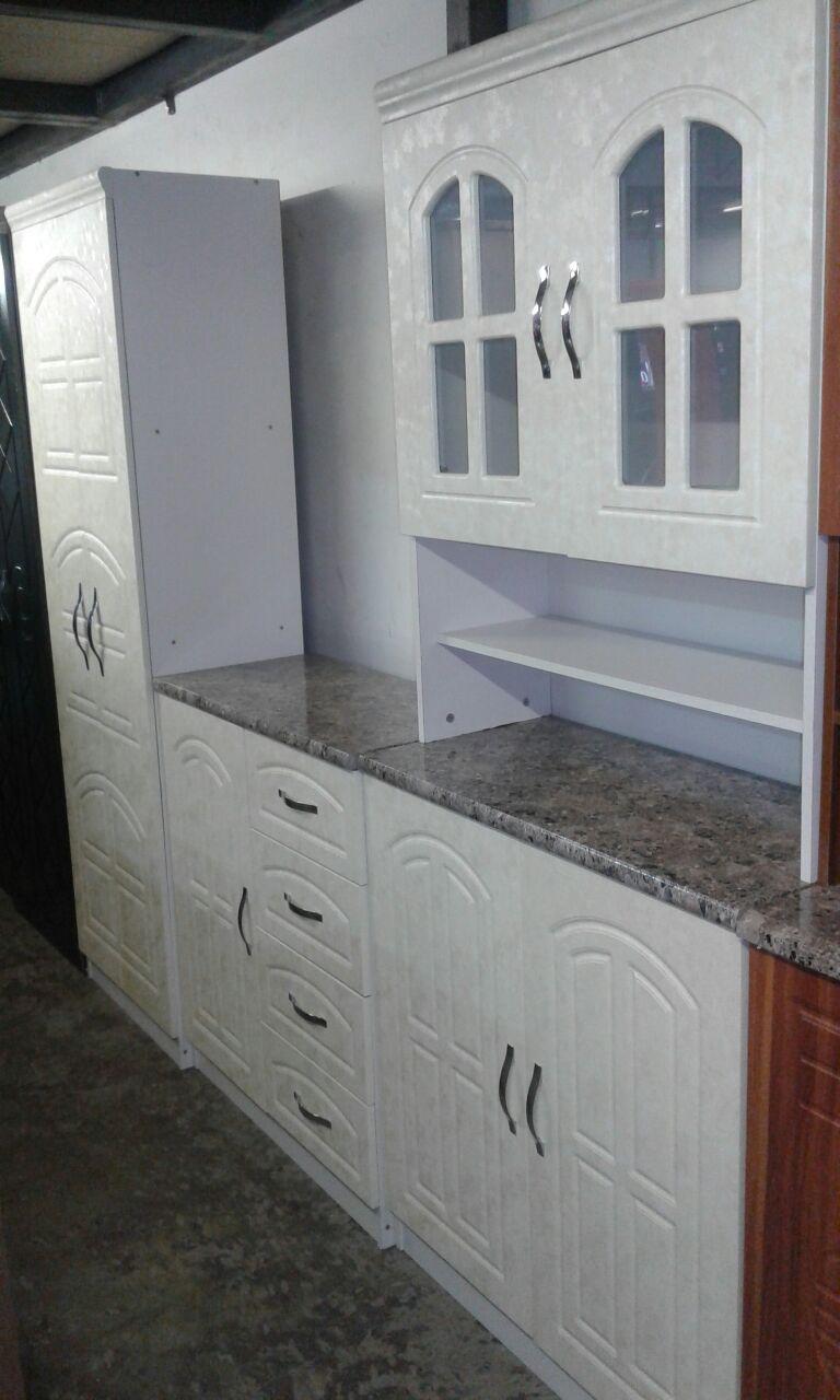 3pc kitchen unit floral white