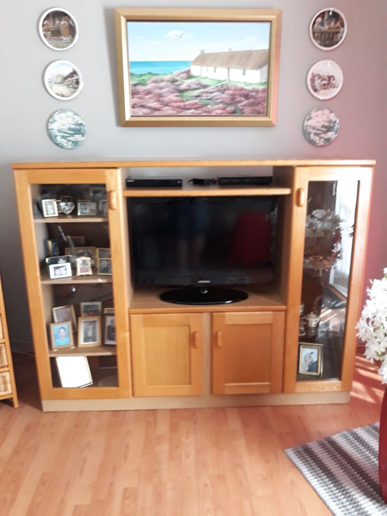 Oak TV Cabinet For Sale