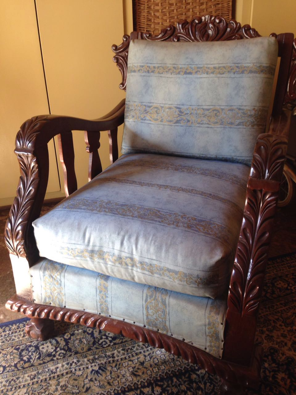 Antique Single chair, 2 off