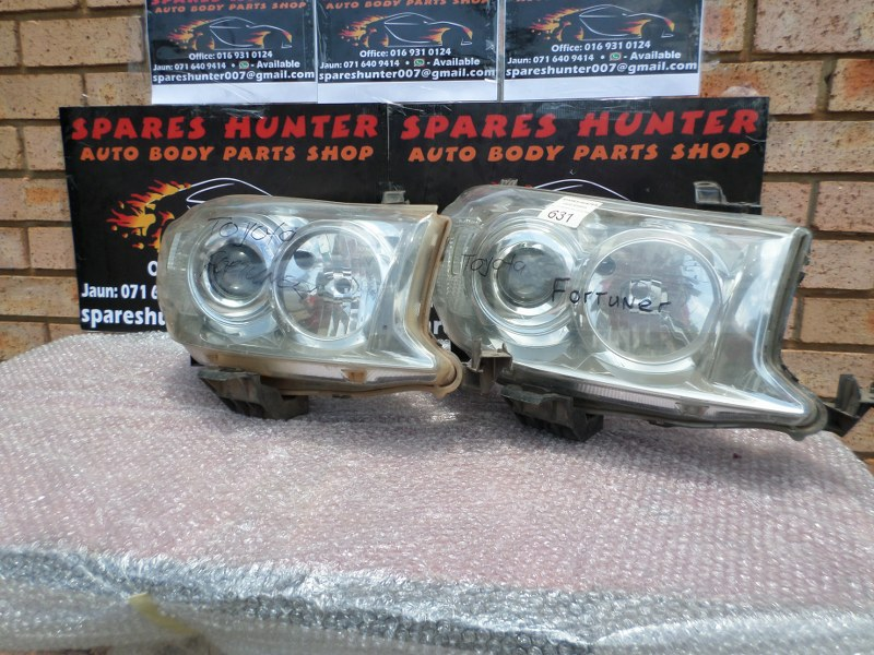 Toyota Fortuner Headlights for sale