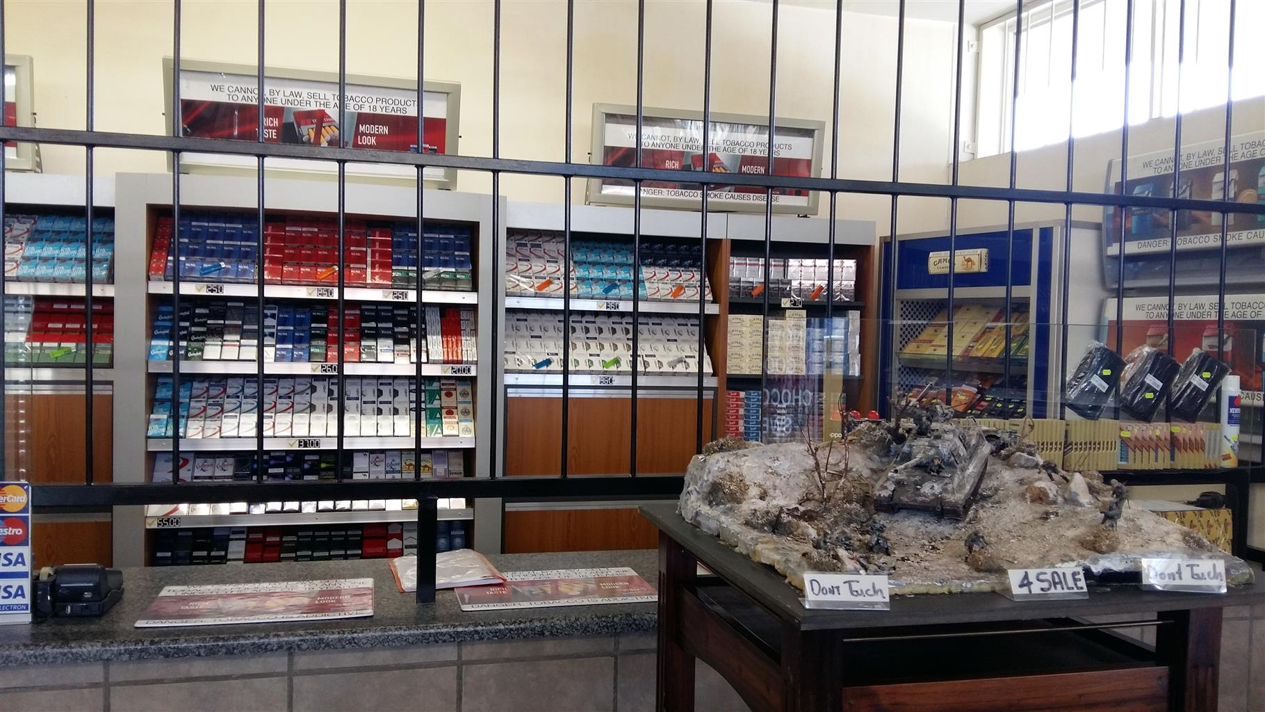 Tobacoo and sweets shop (Springs)