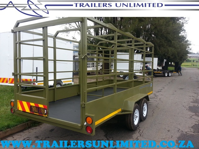 TRAILERS UNLIMITED CATTLE TRAILERS. 3500 X 1700 X 1800.