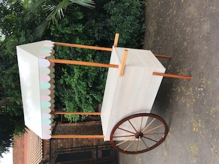 Popcorn cart or mobile bar for events