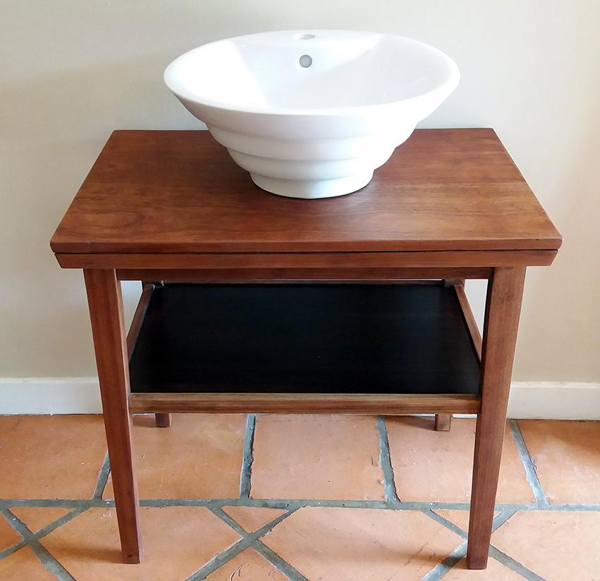 Bathroom vanity - solid mahogany