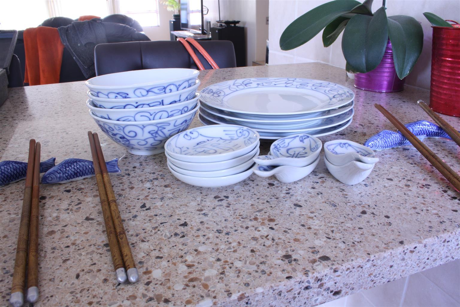 Chinese dinner set