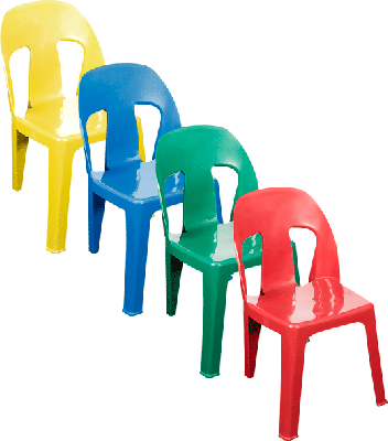 Amazing Plastic Chairs and Tables...