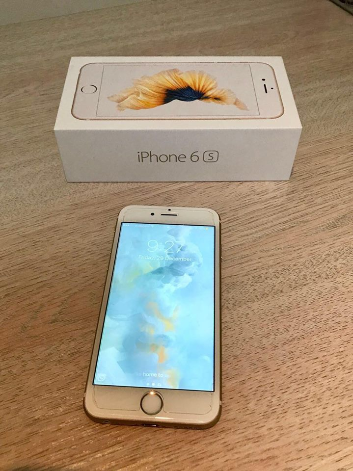 Gold iPhone 6S 16GB