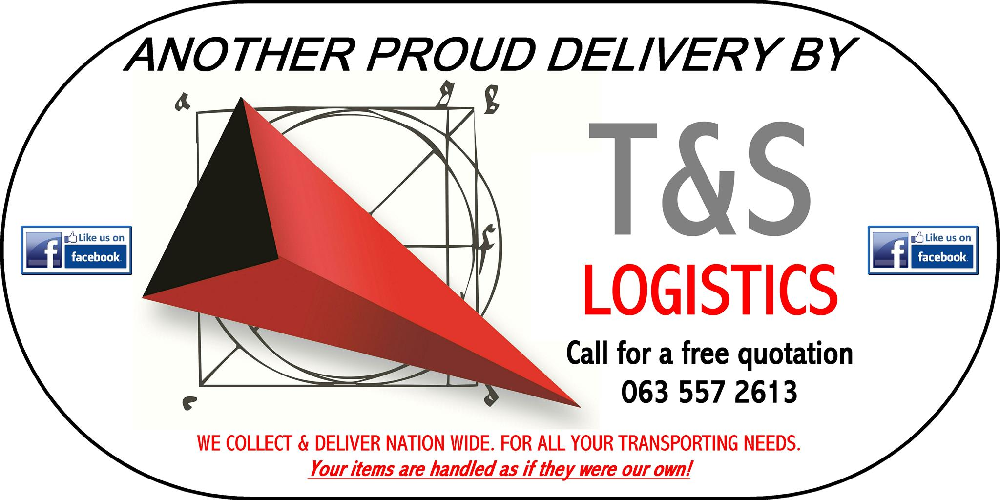 T&S LOGISTICS, COLLECTION & DELIVERY FROM JOHANNESBURG TO NATIONWIDE, FURNITURE REMOVALS, IF IT FITS WE CAN CARRY!!