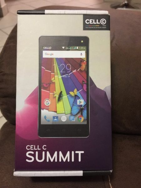 Cell C Summit Phone with box