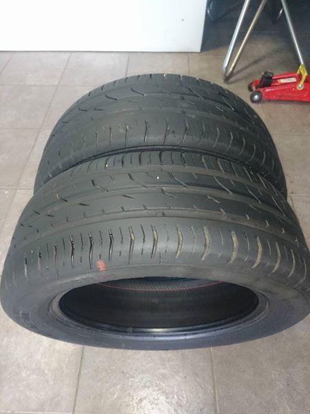 X2 - 195/55/15 Continental tyres