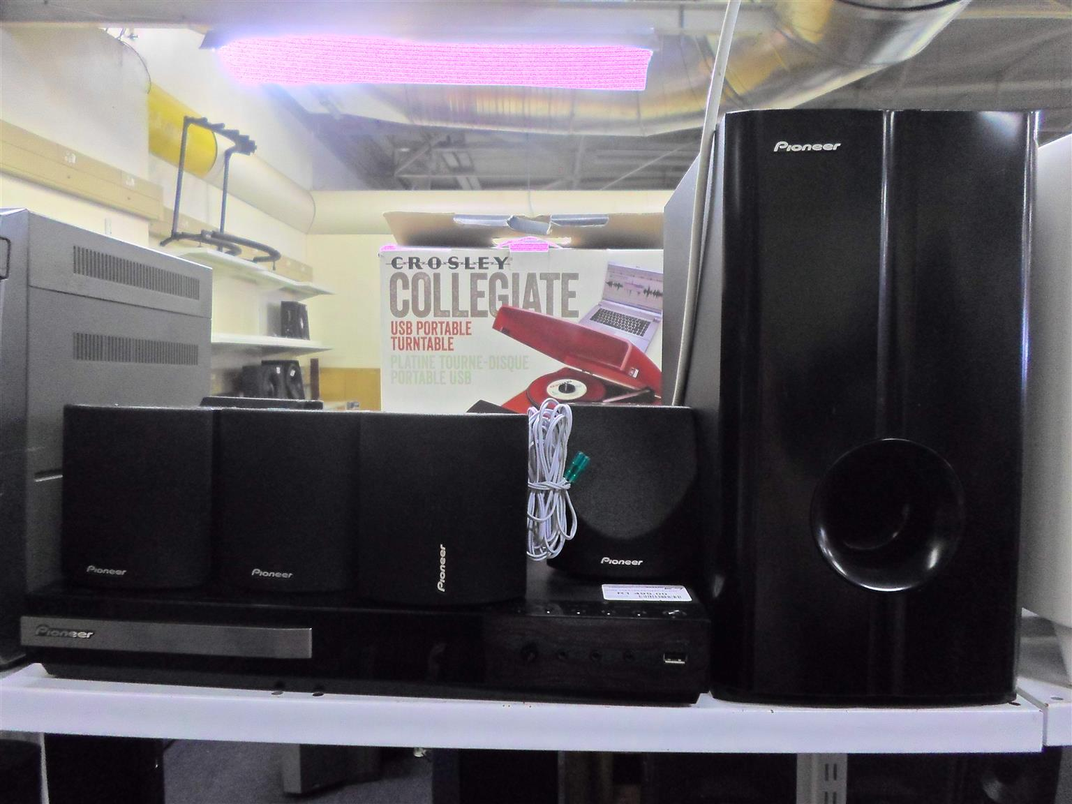 Pioneer Home Theater System | Junk Mail