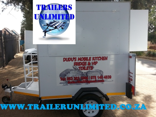 CATERING TRAILERS 1800 X 1600 X 2000